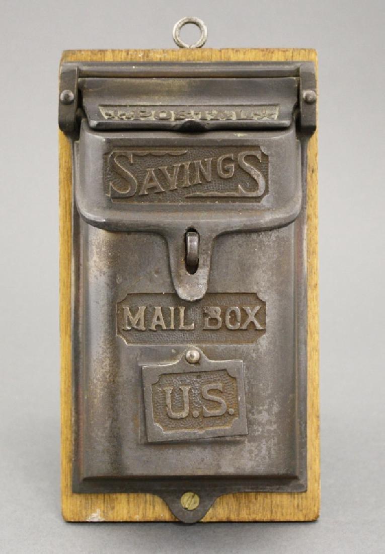 """""""Postal Savings"""" Mailbox"""