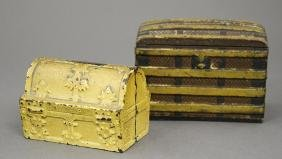 Treasure Chest and Steamer Trunk