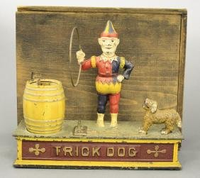 Trick Dog Bank - Six Part Base With the Original Box