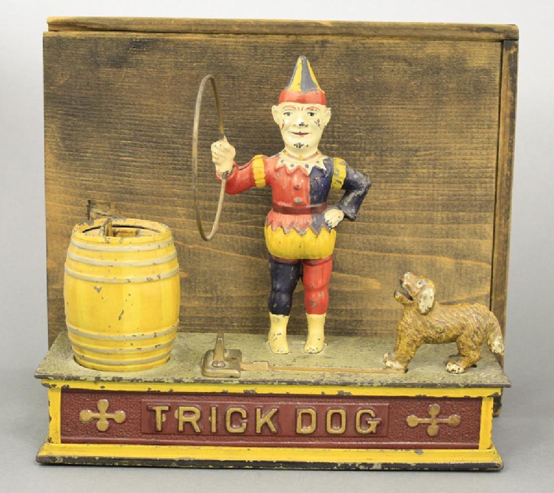 Trick Dog Bank - Six Part Base With the Original Box