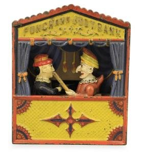 Punch and Judy - Large Letters