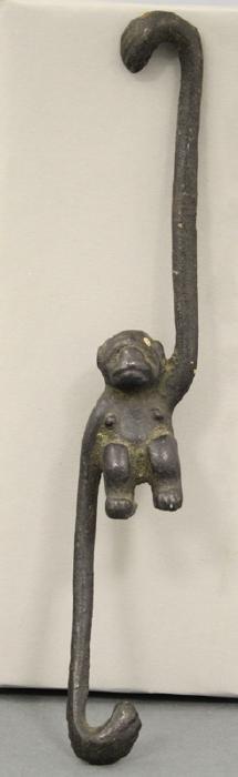 Swinging Monkey Figure