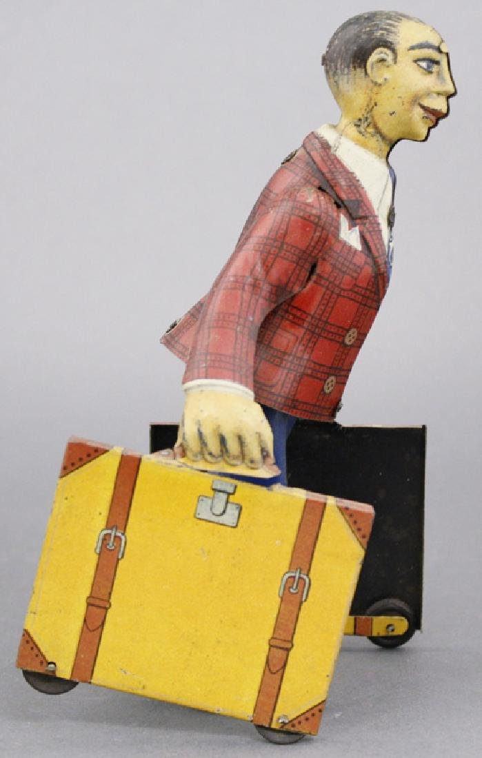 Man with Suitcases