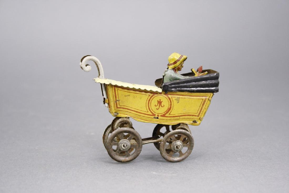 Girl in Baby Carriage