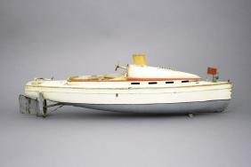 Speed Boat with Wooden Box