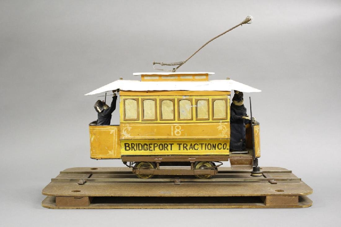 Electric Trolley Patent Model