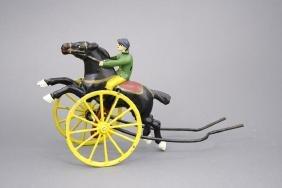 Horse & Jockey Push Toy