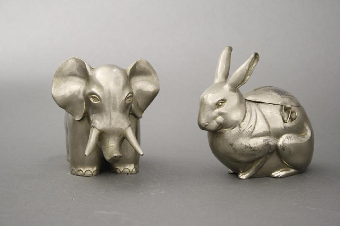 Art Deco Rabbit /Elephant