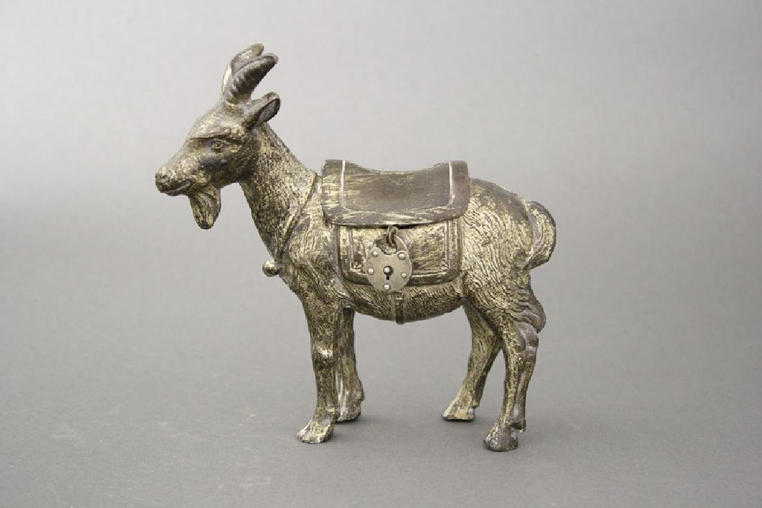 Billy Goat with Saddle