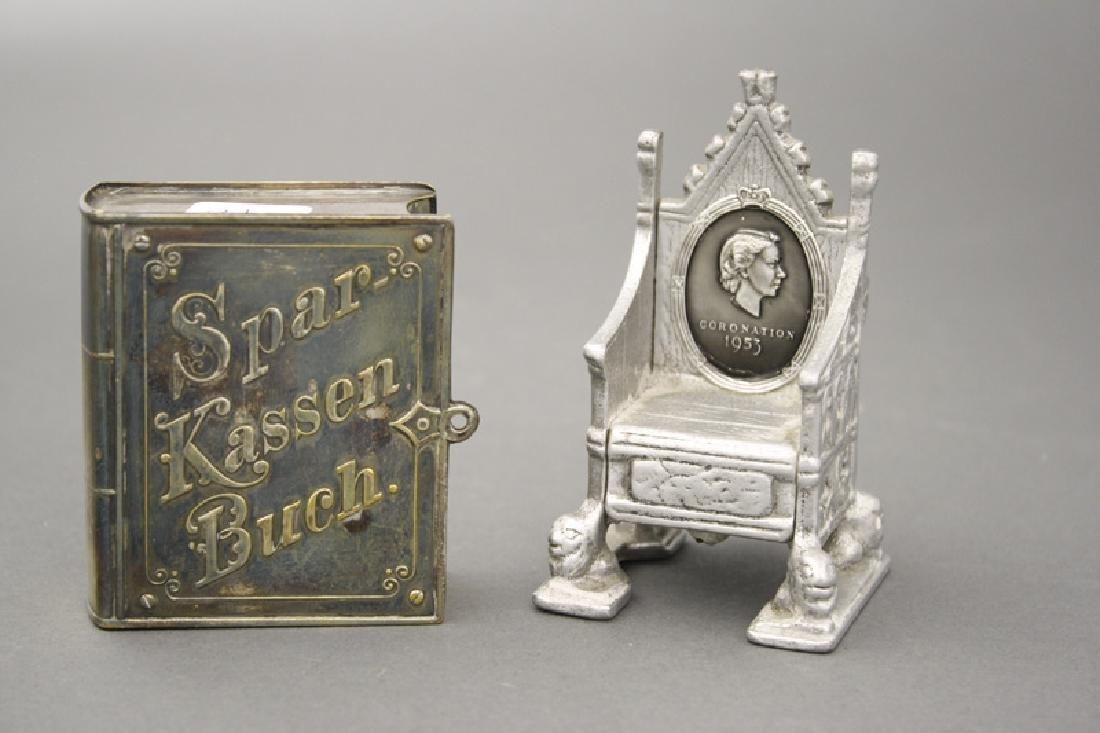 """Sparkassen Buch"" /Coronation Throne"