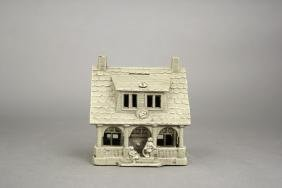 Nickel Plated Bungalow Bank