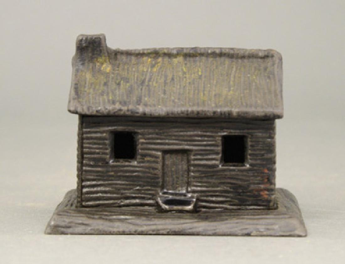 Log Cabin - Chimney Left