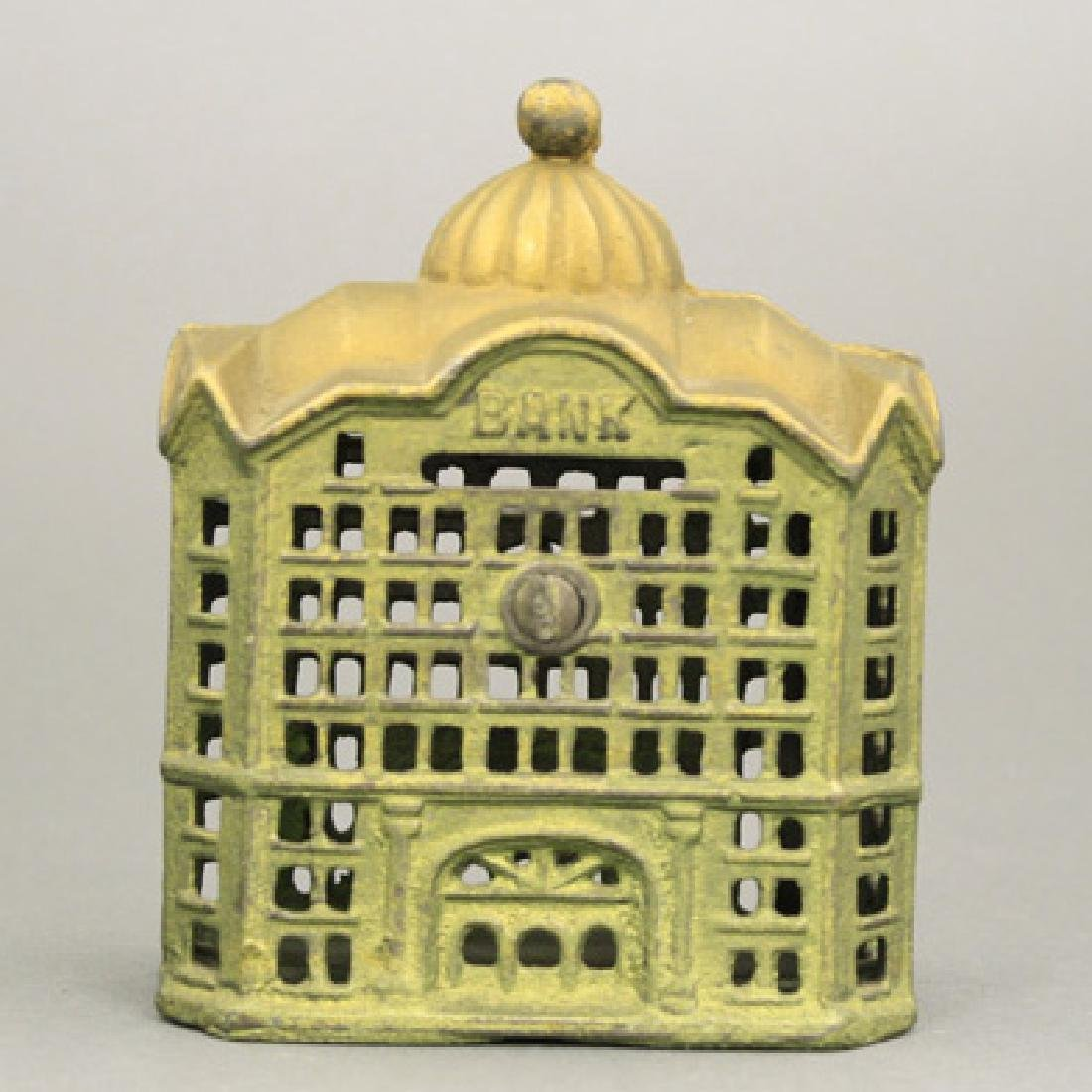 Domed Mosque - Green & Gold