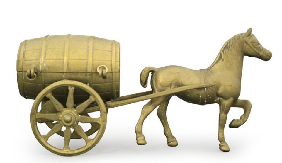 Horse Drawn Brewery Wagon