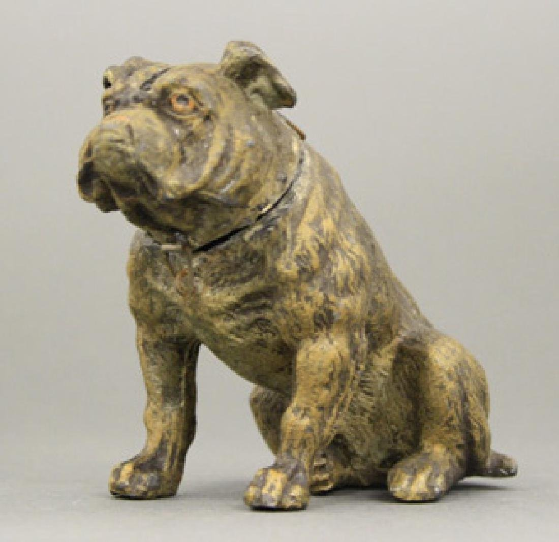 Seated Bulldog