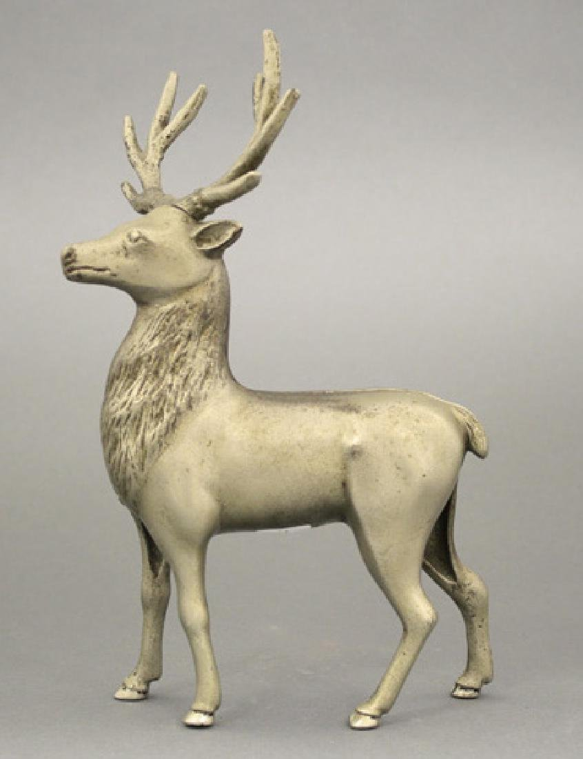 Large Stag -  Nickel Plated