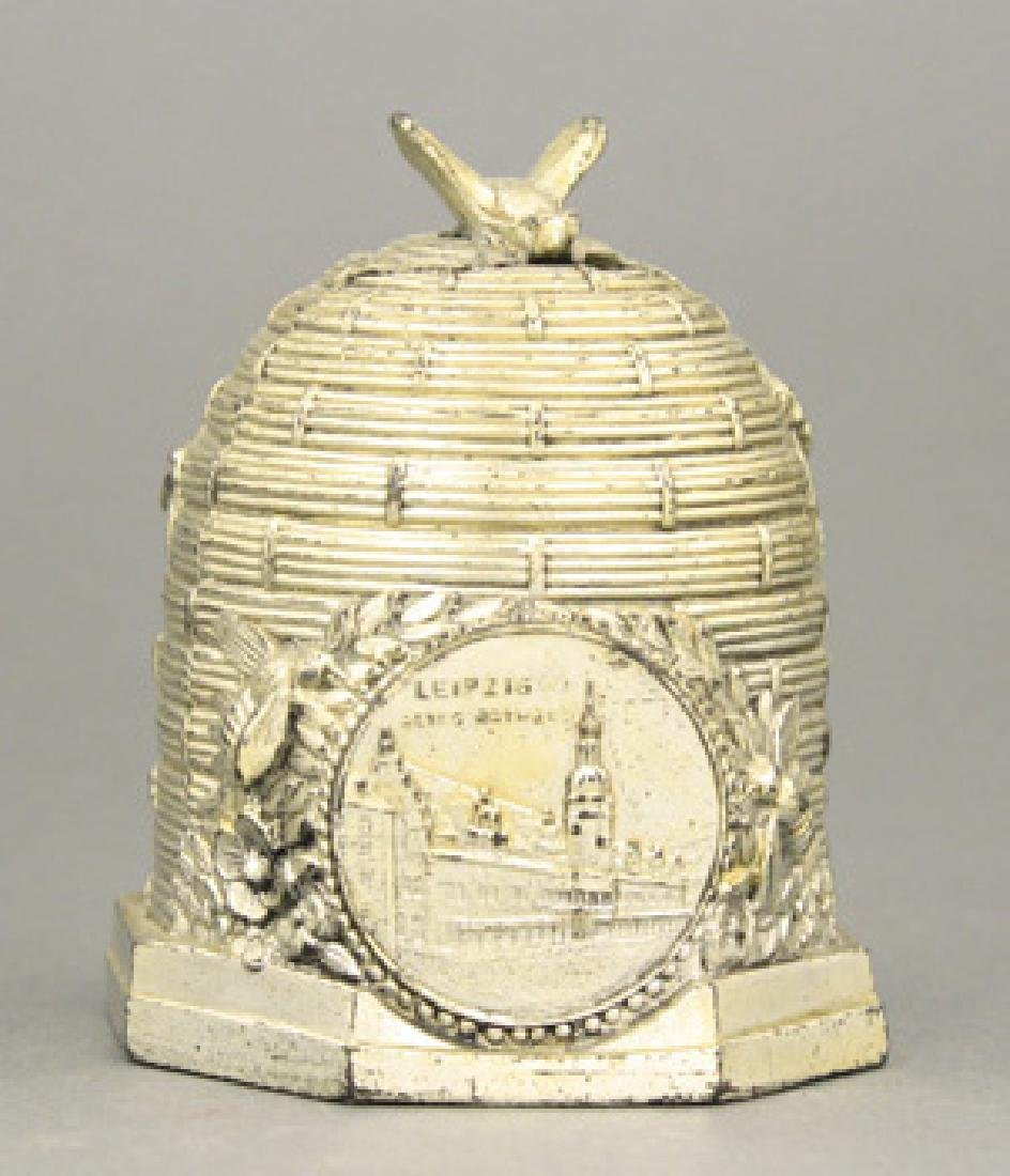 Beehive with Medallion