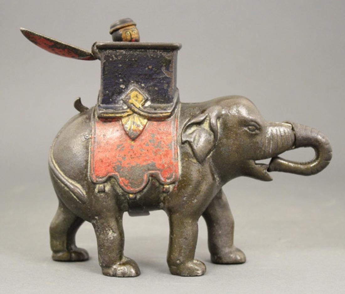 Elephant Howdah (Man Pops Out)