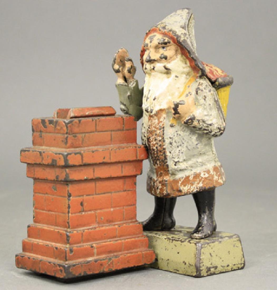 Santa Claus at Chimney
