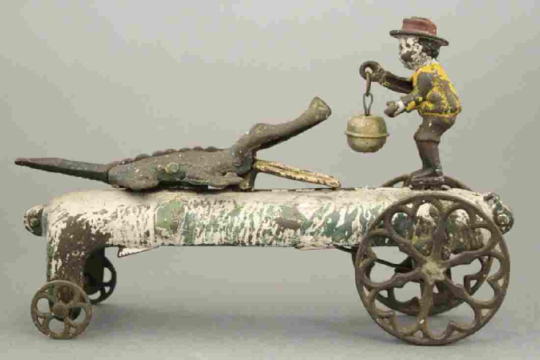 Gator Baiter Bell Toy