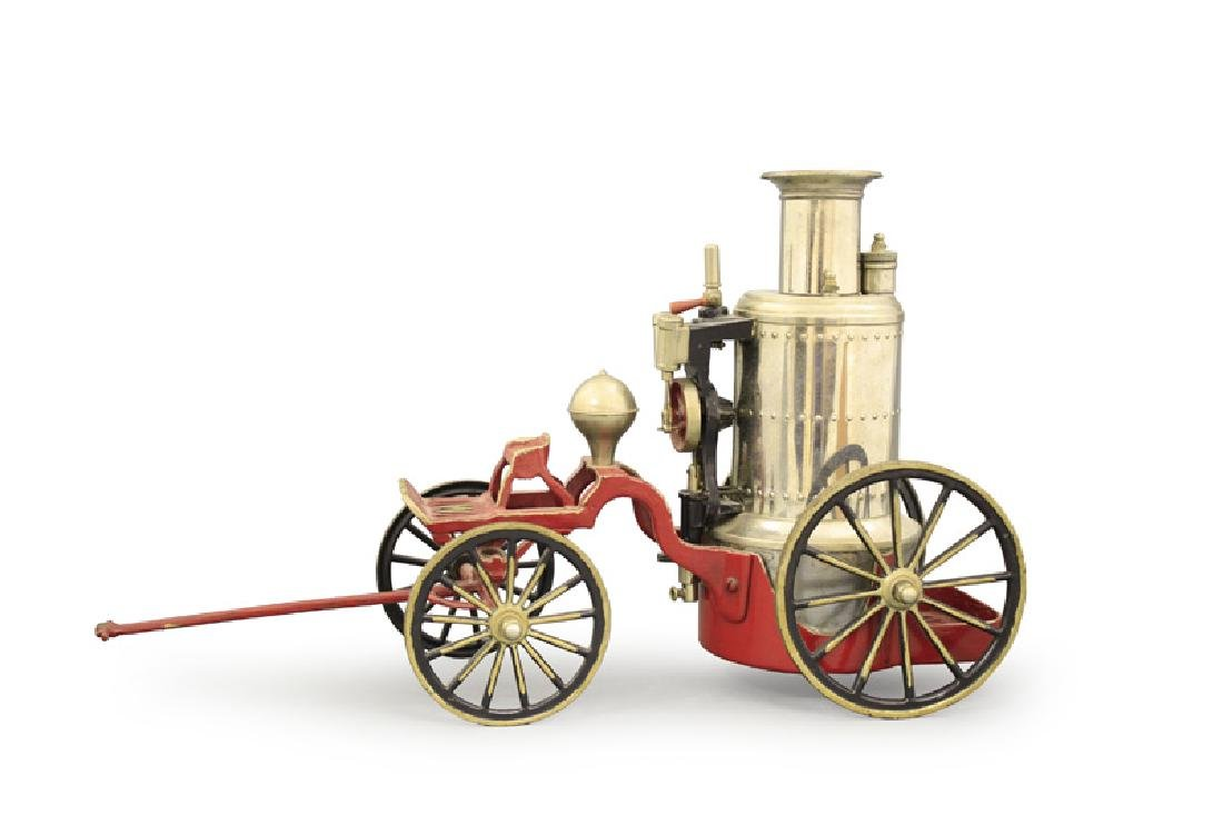 Hand Drawn Fire Pumper