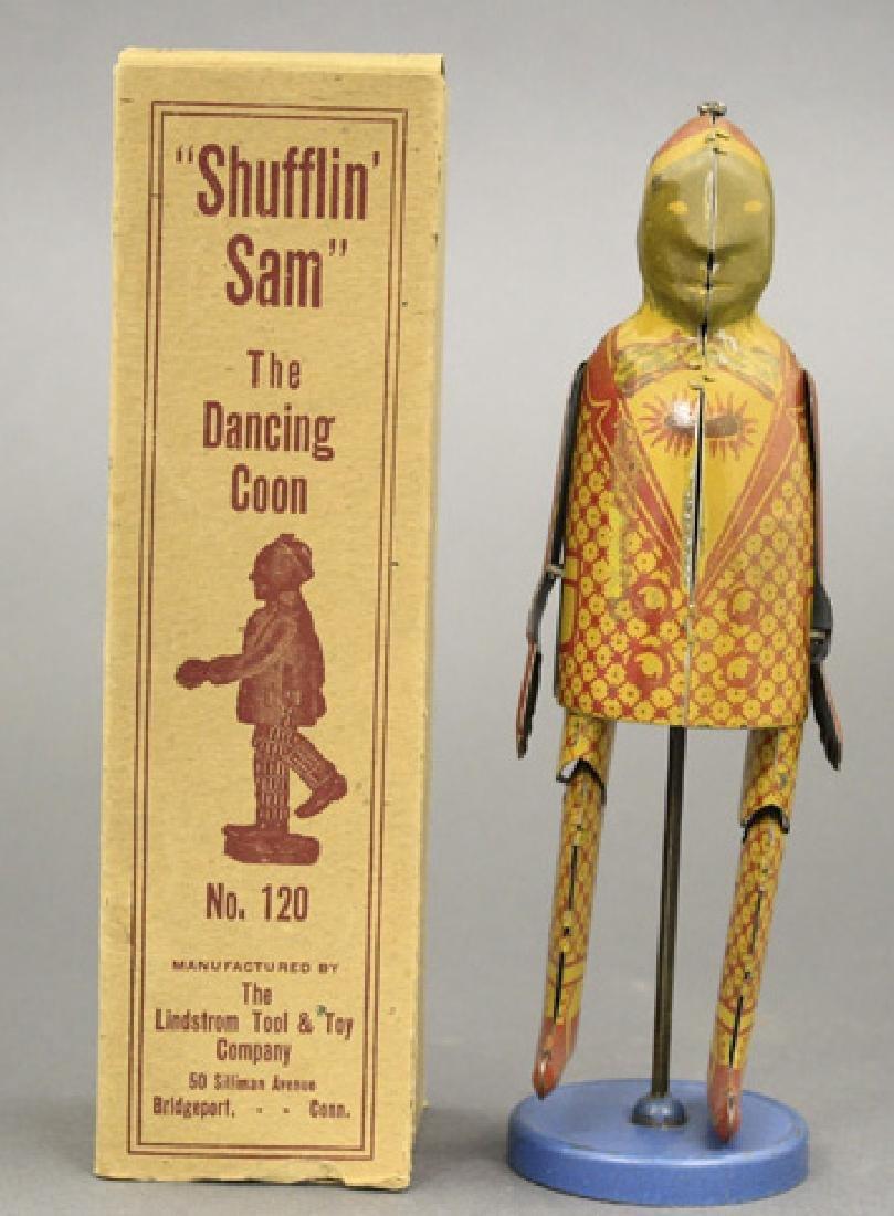 """""""Shufflin Sam"""" with Box"""