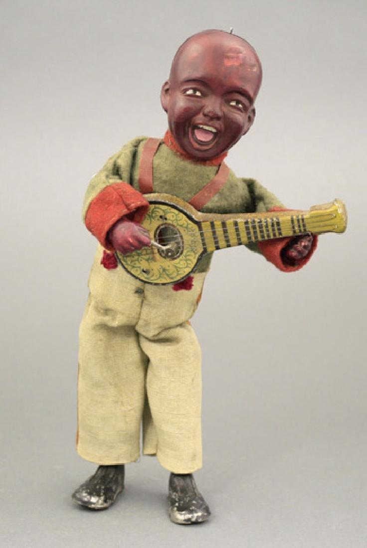 Black Banjo Player