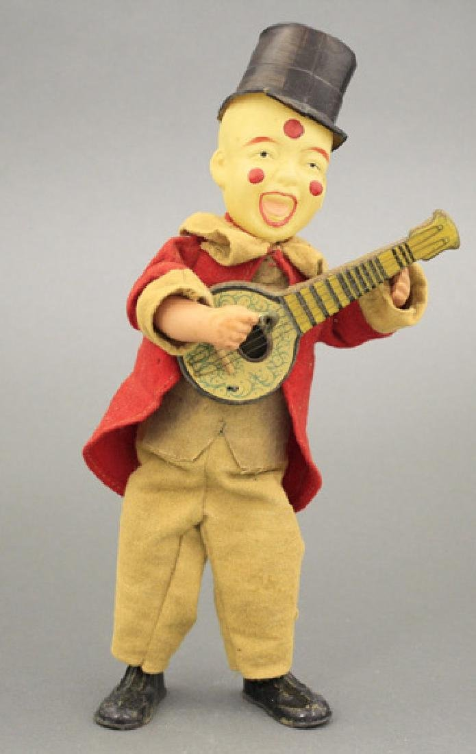 Clown with Banjo