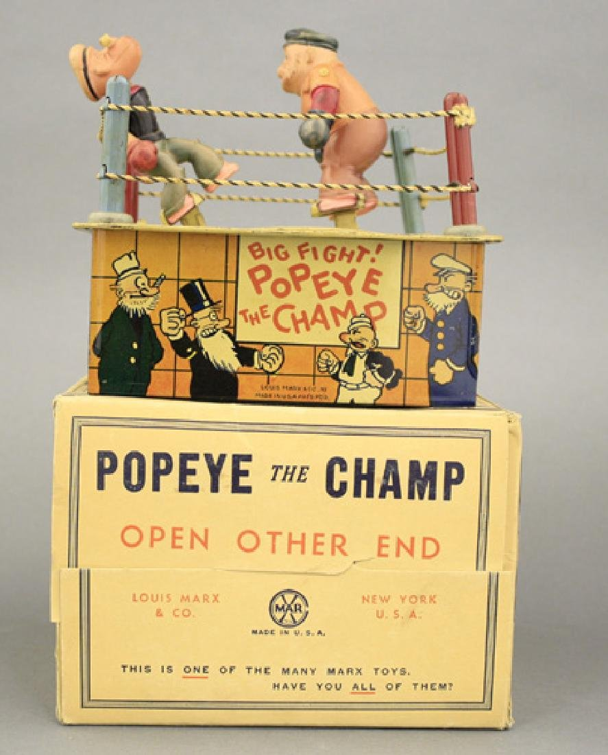 """Popeye the Champ"" with Box"