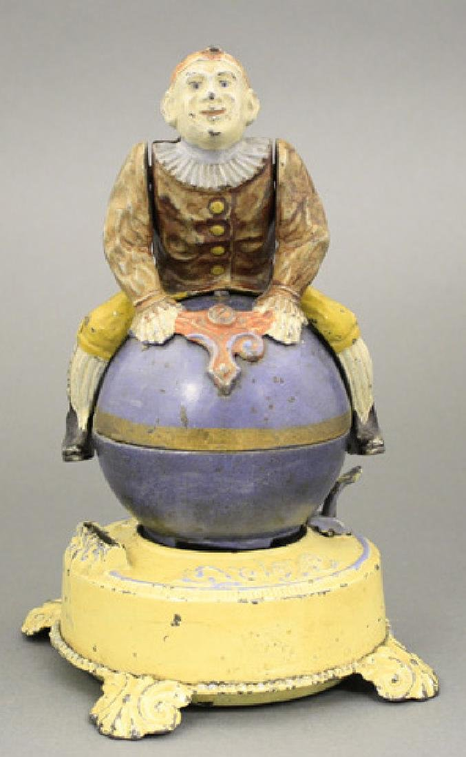 Clown on Globe - Yellow Base