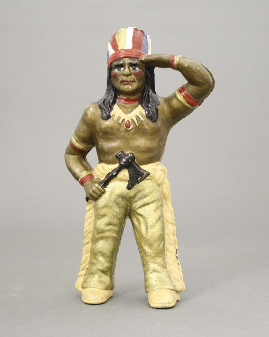 Indian with Tomahawk - Rare Colors