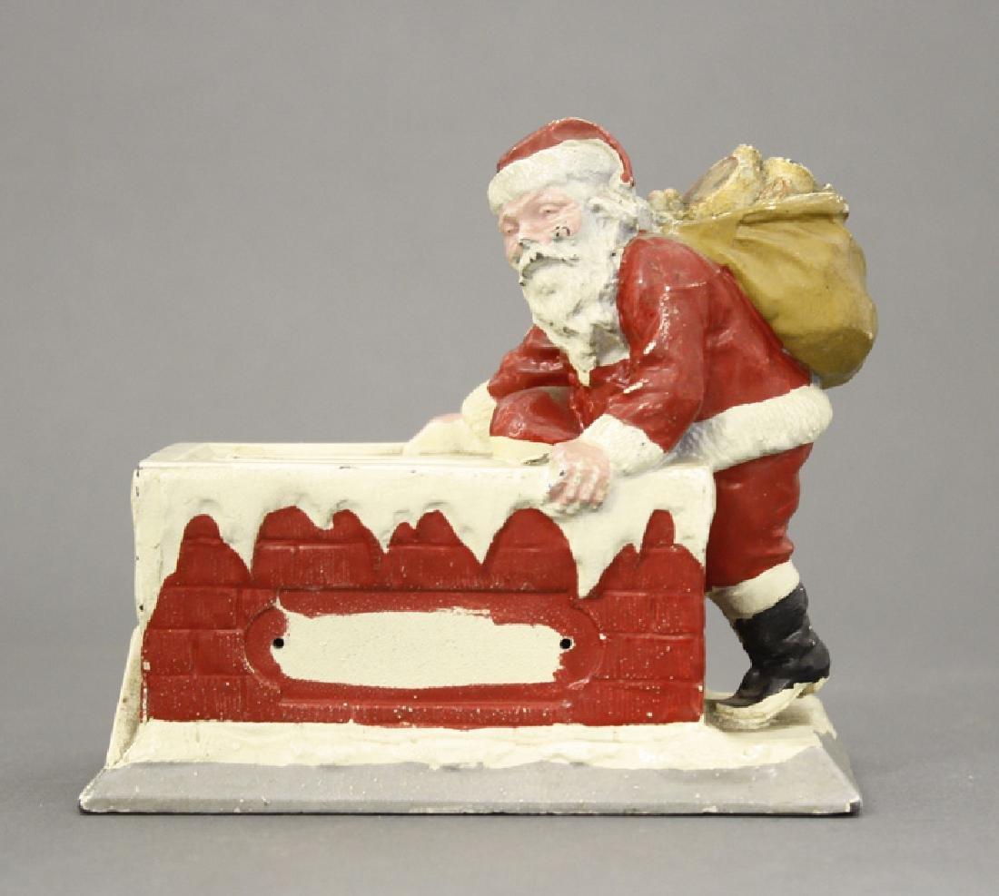 Santa at Chimney