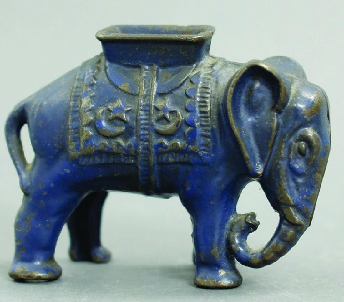 Small Elephant with Howdah