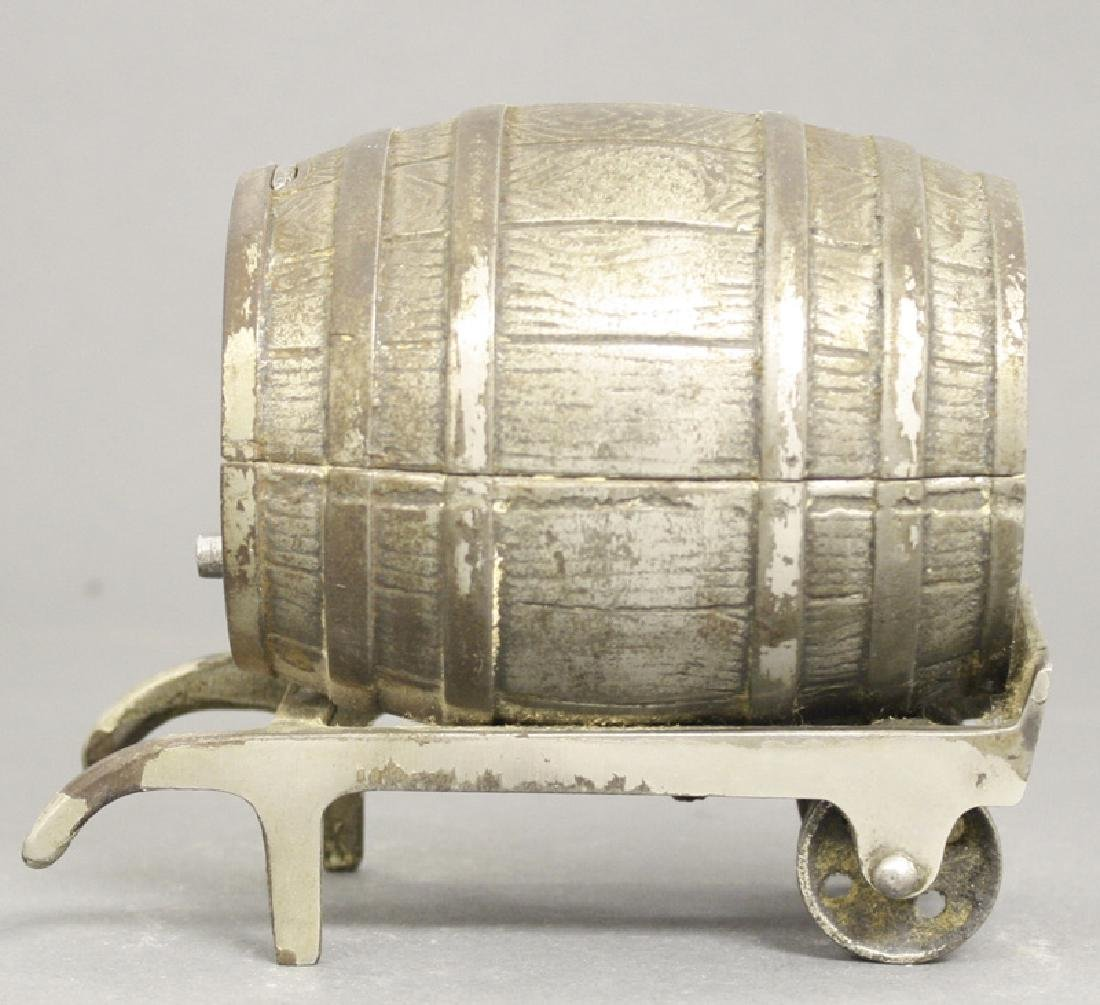 White City Barrel on Cart