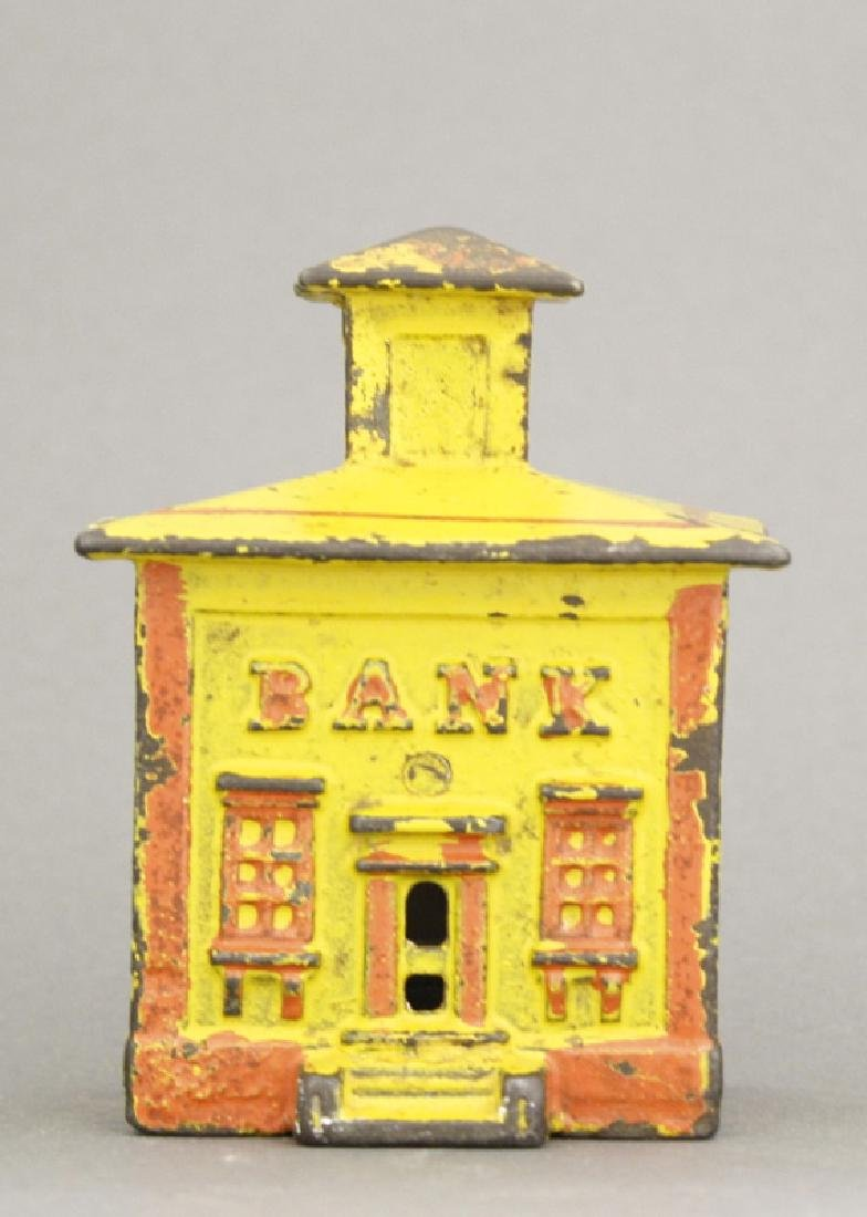 Small Yellow Cupola Iron Bank