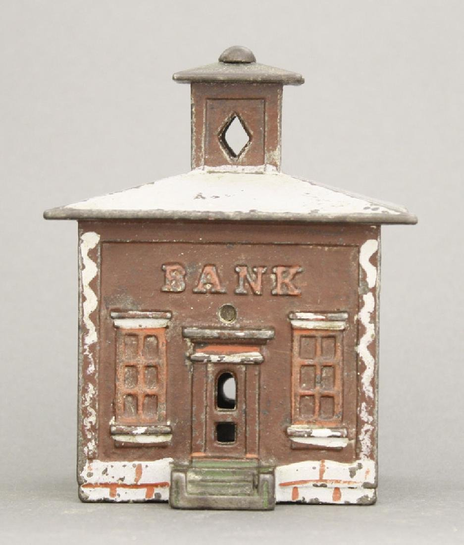 Medium Maroon Cupola Iron Bank