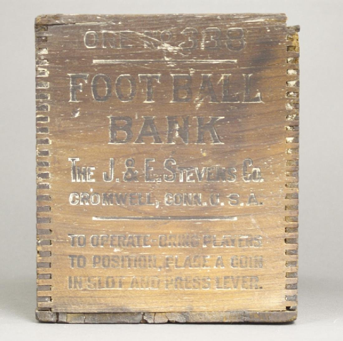"Football Bank Box ""Calamity"""