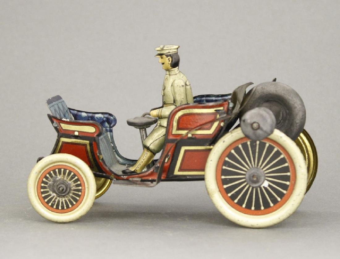 Gyroscopic Horseless Carriage