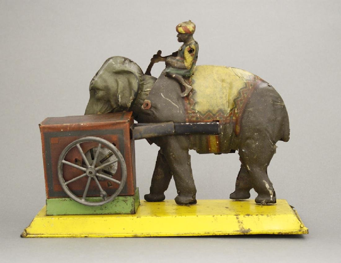 Boy Riding Elephant