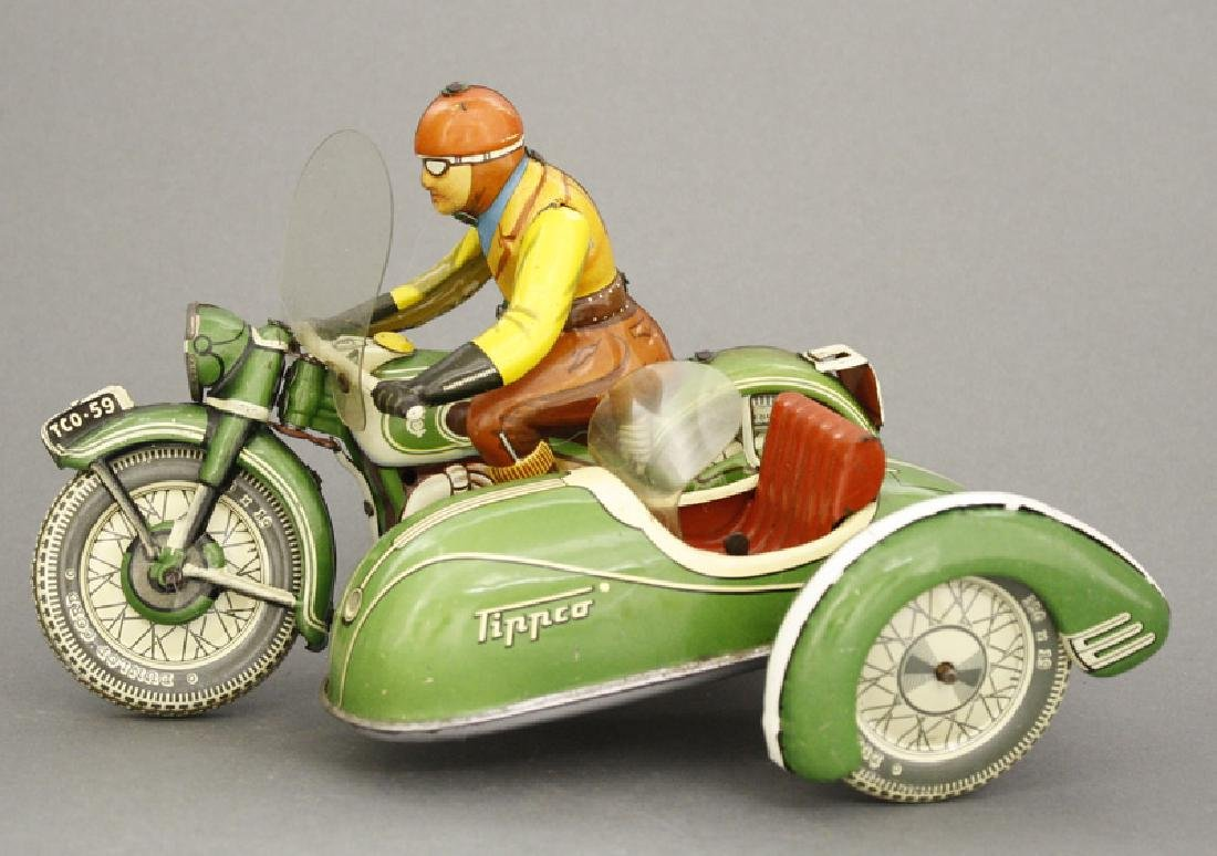 Motorcycle and Sidecar