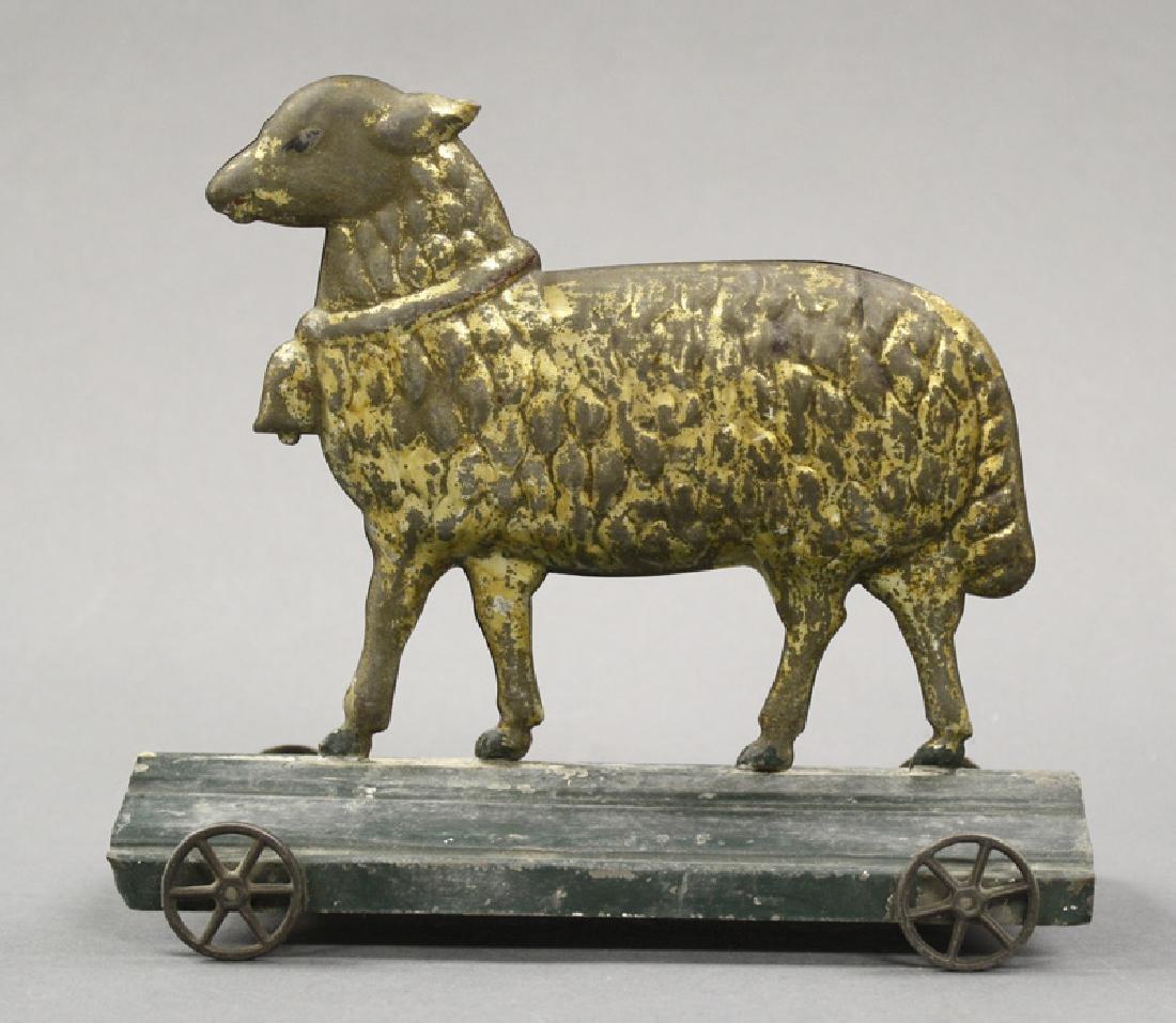 Sheep on Platform