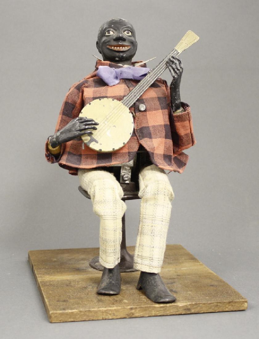 Seated Banjo Player
