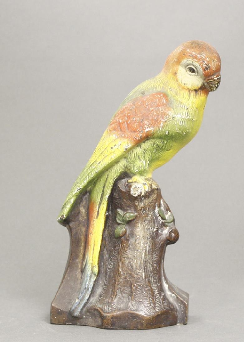 Parrot on Stump