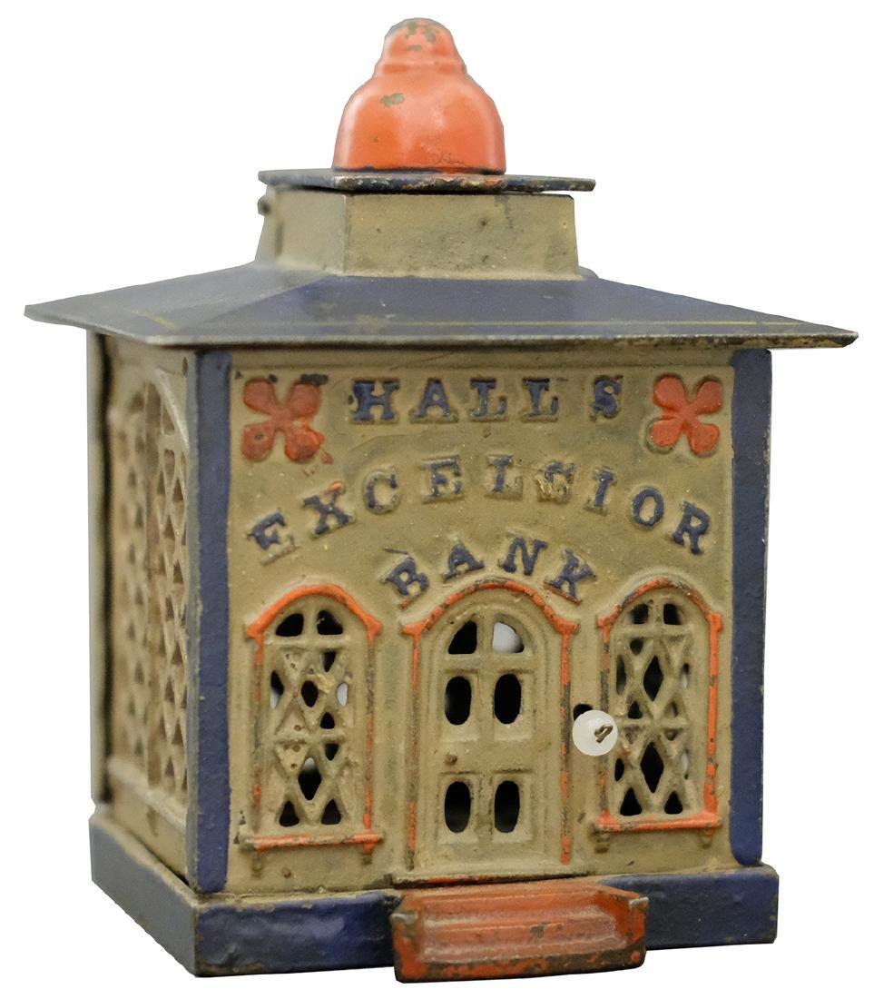 Hall's Excelsior Bank - Lavender and Pink