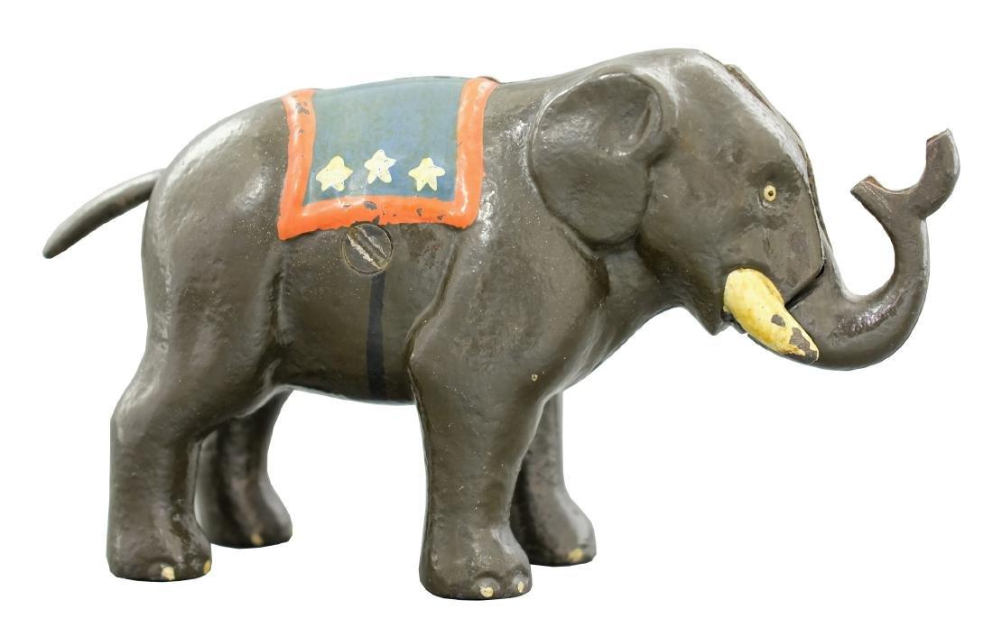 Elephant - Patriotic Blanket & Stars