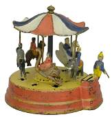Merry-Go-Round Bank Desirable Patriotic Canopy Colors