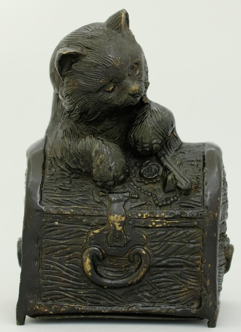 Kitten in a Treasure Chest