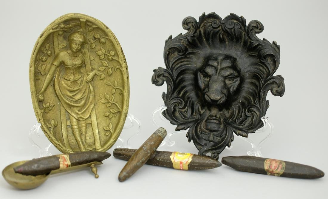 Group of Cigars and Trays