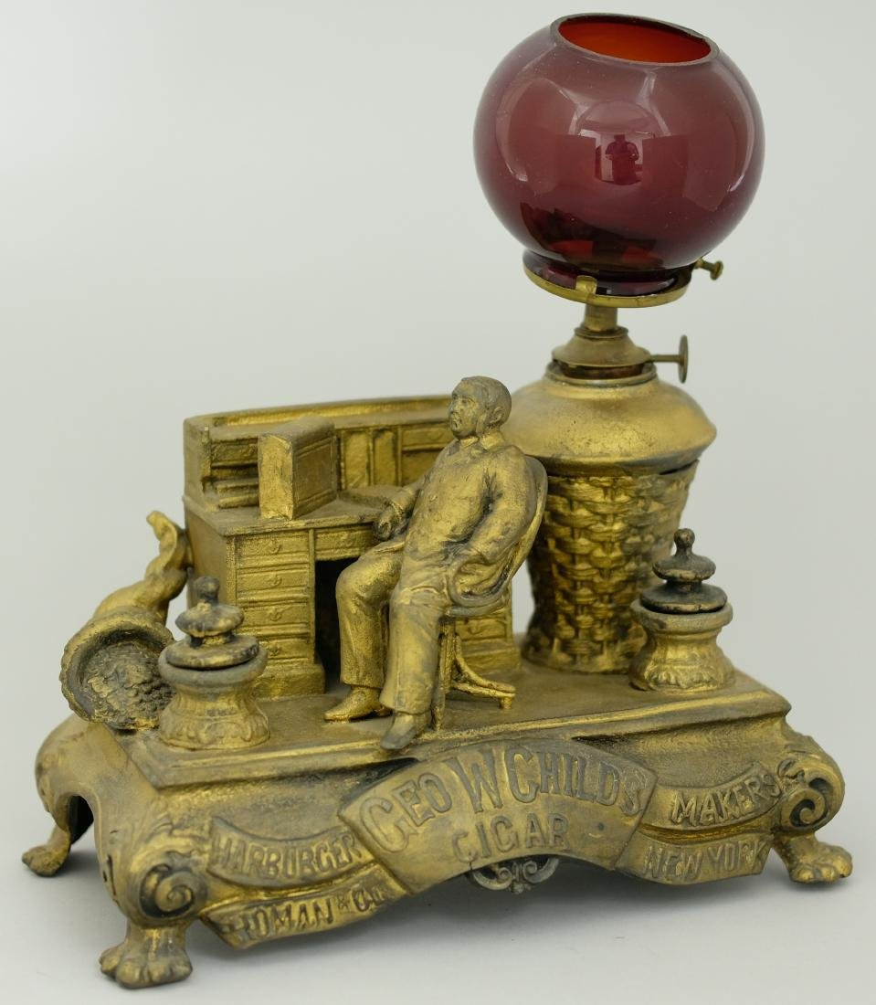 """George W. Childs"" Cigar Lighter"