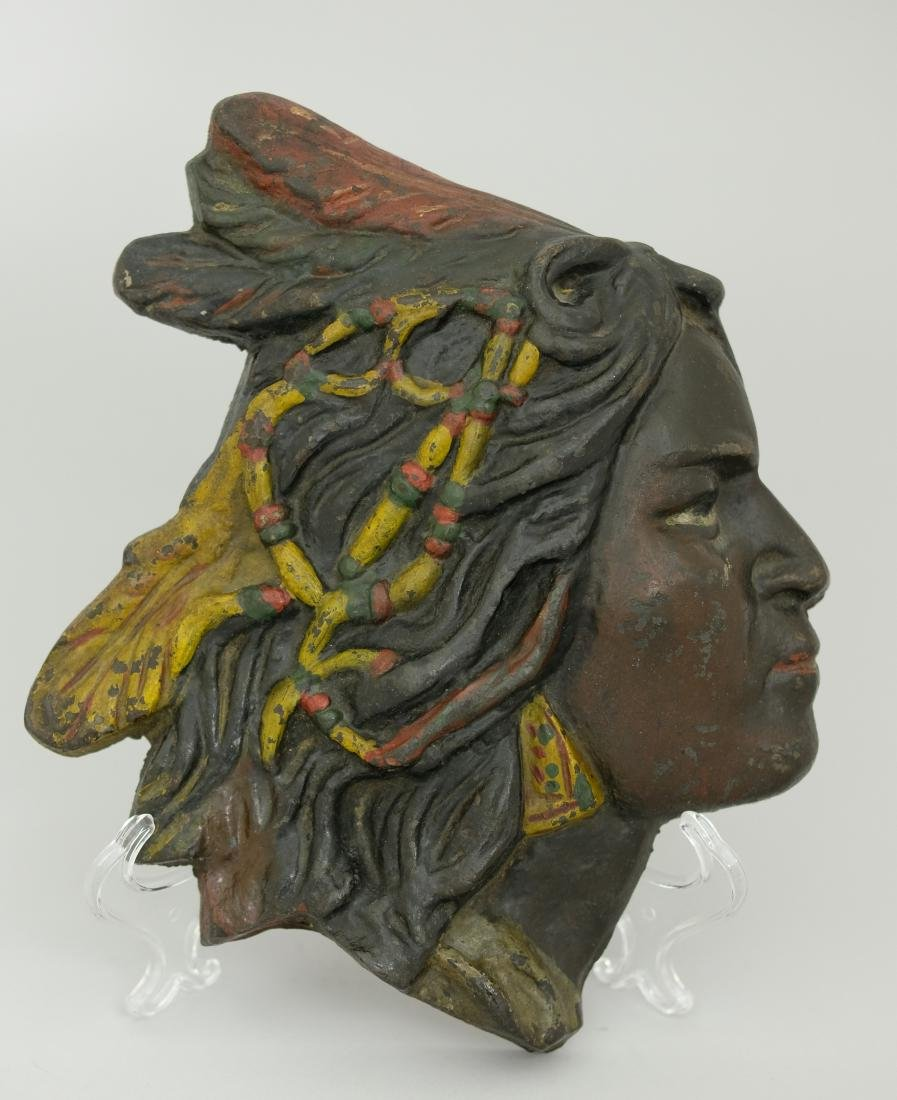Tobacco Indian Plaque